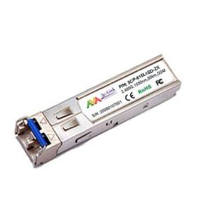 100BASE-BX-D SFP for Fast Ethernet SFP ports, TX1550nm/RX13100nm, LC, WDM 3C-Link