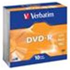 DVD-RW Verbatim 4,7GB 16x Silver spindl (10ks/pack)