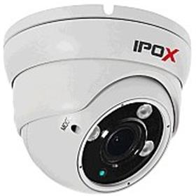 2Mpix IP dome kamera IPOX PX-DVI2003A-E/W (2.8-12mm, IR do 50m, PoE)